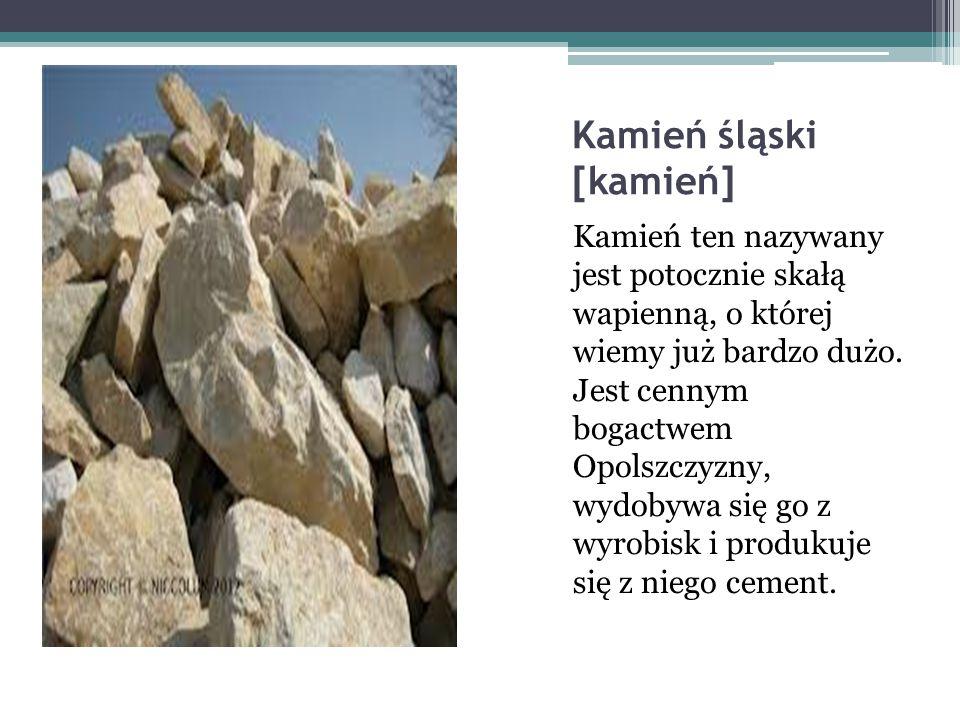 Kamień śląski [kamień]
